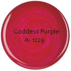 GEL COULEUR SEMI PERMANENT Goddess Purple 3.6g