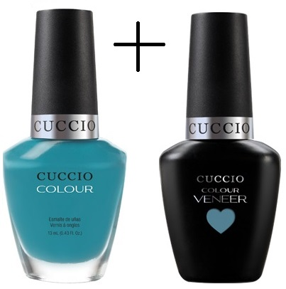 DUO VERNIS GEL + VERNIS: Grecian Sea 13ml