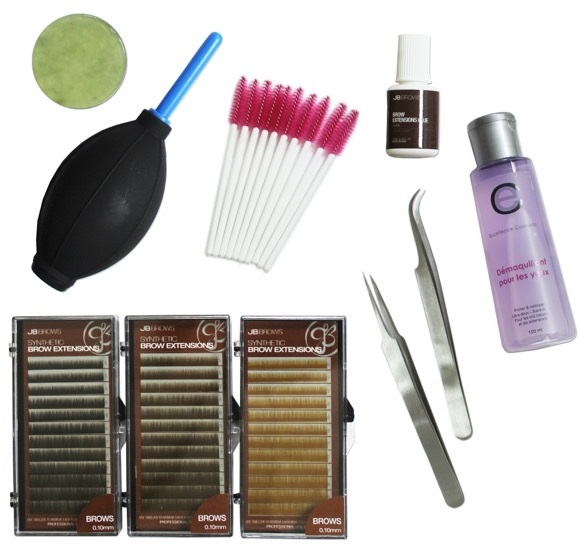 KIT EXTENSIONS DE SOURCILS