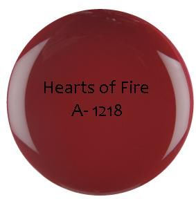 GEL COULEUR SEMI PERMANENT Hearts of Fire 3.6g