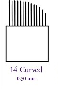 LAME 14 C CURVED